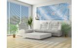 Fotobehang Abstract | Blauw, Grijs | 250x104cm