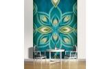 Fotobehang Abstract | Turquoise | 206x275cm