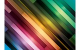 Fotobehang Abstract | Groen, Paars | 312x219cm