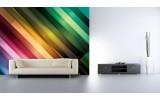 Fotobehang Abstract | Groen, Paars | 208x146cm