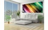 Fotobehang Abstract | Groen, Paars | 250x104cm