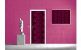 Fotobehang Abstract | Roze | 91x211cm