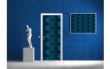 Fotobehang Abstract | Blauw | 91x211cm