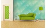 Fotobehang Papier Klassiek | Groen, Blauw | 254x184cm