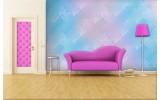 Fotobehang Klassiek | Roze, Blauw | 208x146cm