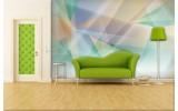 Fotobehang Papier Abstract | Groen, Geel | 254x184cm