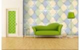 Fotobehang Abstract | Geel, Groen | 312x219cm