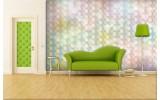 Fotobehang Abstract | Geel, Groen | 152,5x104cm