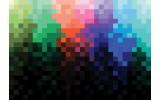 Fotobehang Abstract | Zwart, Blauw | 208x146cm