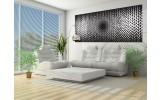 Fotobehang Abstract | Zwart, Wit | 250x104cm