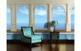 Fotobehang Zee | Blauw | 208x146cm