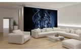 Fotobehang Wilde Dieren | Blauw | 152,5x104cm