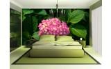 Fotobehang Bloemen | Groen | 152,5x104cm