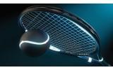 Fotobehang Tennis | Blauw | 416x254