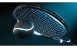 Fotobehang Vlies   Tennis   Blauw   368x254cm (bxh)