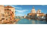 Fotobehang Venetië | Blauw, Bruin | 250x104cm