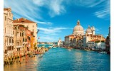 Fotobehang Vlies | Venetië | Blauw, Bruin | 368x254cm (bxh)