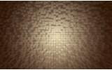Fotobehang 3D | Grijs, Bruin | 208x146cm