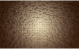 Fotobehang Vlies | 3D | Grijs, Bruin | 368x254cm (bxh)