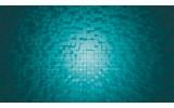 Fotobehang Papier 3D | Turquoise | 368x254cm