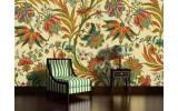 Fotobehang Bloemen | Geel, Groen | 104x70,5cm