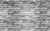 Fotobehang Vlies   Stenen, Muur   Grijs   368x254cm (bxh)
