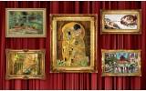 Fotobehang Vlies | Kunst | Goud | 368x254cm (bxh)