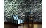 Fotobehang Muur | Grijs, Groen | 208x146cm