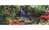 Fotobehang Natuur   Groen, Rood   250x104cm