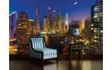 Fotobehang Skyline | Blauw | 312x219cm