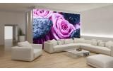 Fotobehang Papier Bloemen, Roos | Roze | 254x184cm