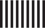 Fotobehang Vlies | Strepen | Zwart, Wit | 368x254cm (bxh)