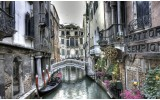 Fotobehang Vlies | Venetië | Grijs | 368x254cm (bxh)