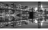 Fotobehang New York | Zwart, Wit | 416x254