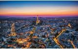 Fotobehang Parijs | Blauw | 104x70,5cm