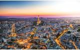 Fotobehang Vlies | Parijs | Geel | 368x254cm (bxh)