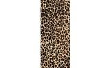 Deursticker Muursticker Luipaard, Dieren | Bruin | 91x211cm