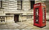 Fotobehang Vlies | Engeland | Rood | 368x254cm (bxh)