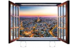 Fotobehang Parijs | Bruin |