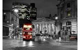 Fotobehang London | Zwart, Grijs | 104x70,5cm