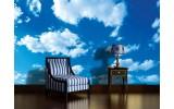 Fotobehang Lucht, Zon | Blauw | 152,5x104cm