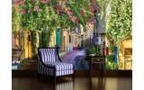 Fotobehang Natuur, Straat | Groen | 416x254