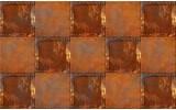 Fotobehang Papier Metaallook | Bruin | 368x254cm