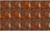 Fotobehang Metaallook | Bruin | 104x70,5cm