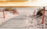 Fotobehang Vlies | Strand | Geel | 368x254cm (bxh)
