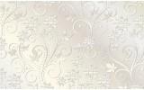 Fotobehang Bloemen | Wit | 104x70,5cm