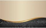 Fotobehang Vlies | Klassiek | Zwart, Goud | 368x254cm (bxh)