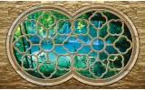 Fotobehang Natuur, Slaapkamer | Blauw | 208x146cm