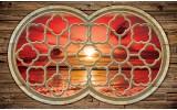 Fotobehang Vlies | Zonsondergang | Rood, Bruin | 368x254cm (bxh)