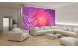 Fotobehang Papier Bloemen | Paars, Roze | 254x184cm